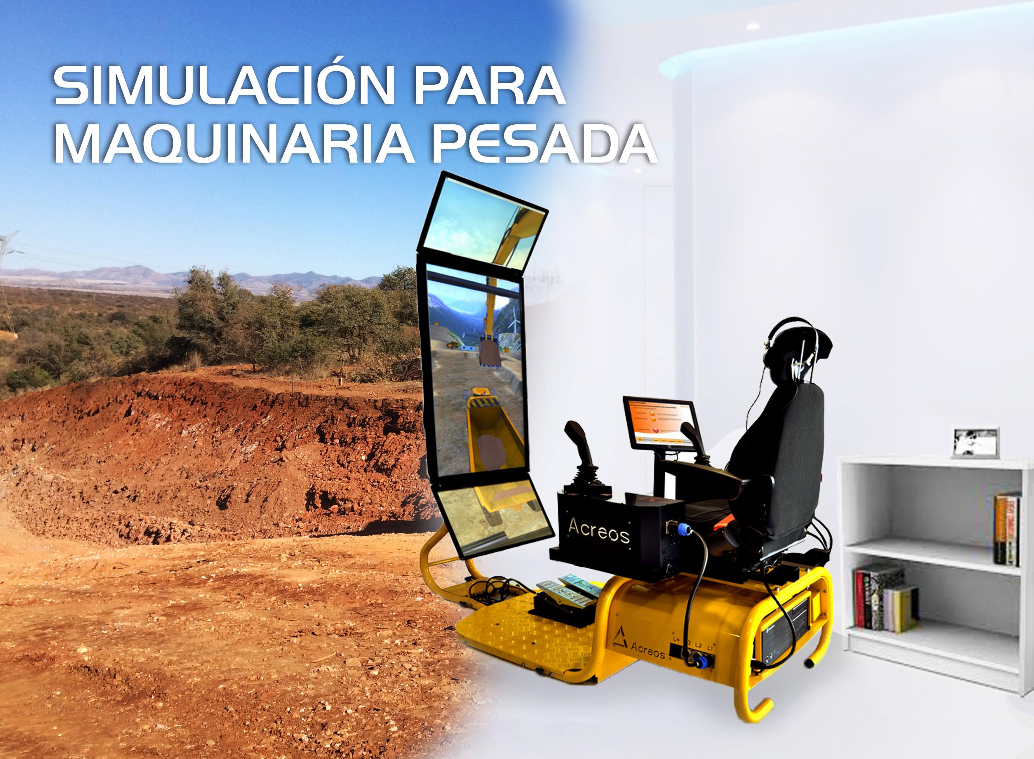 Simulación Para Maquinaria Pesada